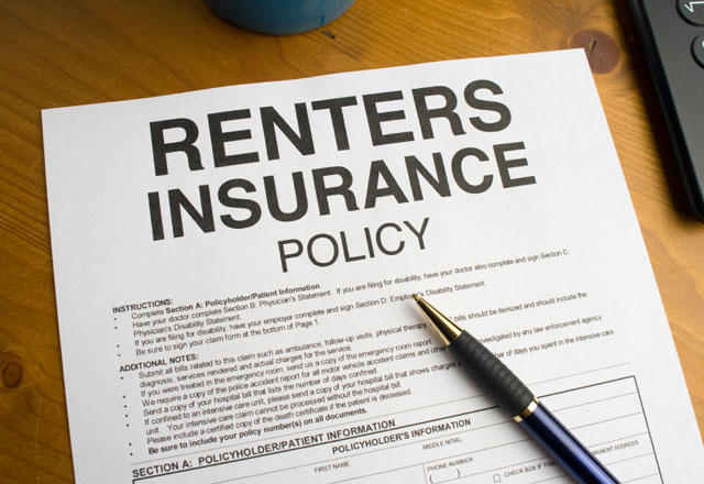 renters insurance policy image